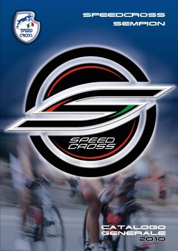 SEMPION SPEEDCROSS CATALOGO GENERALE 2010