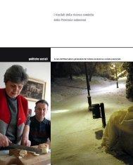 Povertà e deprivazione in Trentino - Riviste