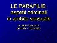 crimini sessuali - Marco Cannavicci