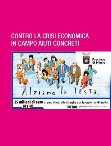 contro la crisi economica in campo aiuti concreti - Comune di ...
