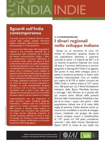 IndiaIndie - IAI - Istituto Affari Internazionali