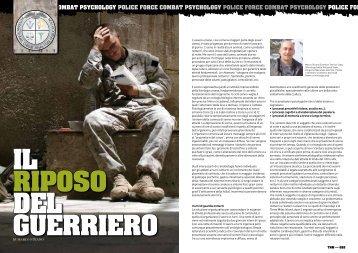 Marco Strano il riposo del guerriero_combat Psychology 2012