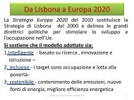 Programmazione 2014 2020 - Europe Direct Marche