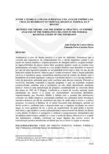 6514 entre a teoria ea práxis jurígenas: uma análise ... - publicaDireito