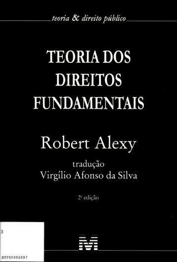 TEORIA DOS DIREITOS FUNDAMENTAIS - STF