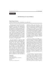 Metodología y salud pública. M Delgado Rodríguez. Rev
