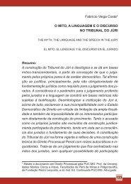 123 Fabrício Veiga Costa* O MitO, a LinguageM e O DiscursO nO ...