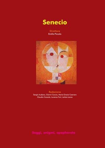 Segni e simboli della dea - 2 - Senecio