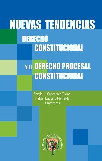NUEVAS TENDENCIAS DEL DERECHO CONSTITUCIONAL - umet