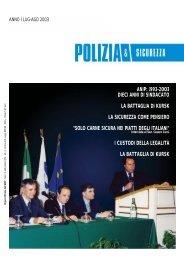 agosto 2003 - ANIP - Italia sicura