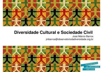 Diversidade Cultural e Sociedade Civil - Blogs