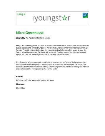 Micro Greenhouse