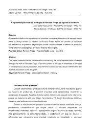 A representação social da produção de Ronaldo Fraga