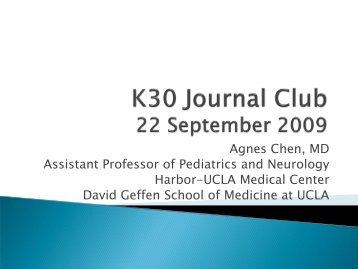 Journal Club - UCLA CTSI