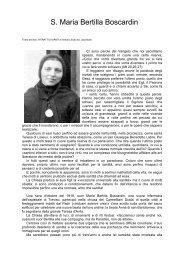 S. Maria Bertilla Boscardin - Amici Padre Luigi