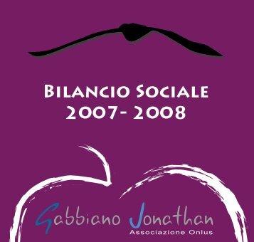 Bilancio Sociale 2007- 2008 - GJ - Home page