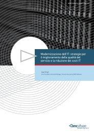 Modernizzazione dell'IT: strategie per il ... - BMC Software