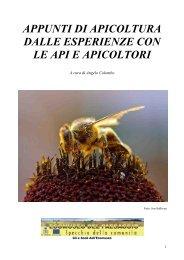 APPUNTI DI APICOLTURA DALLE ESPERIENZE CON LE API E ...