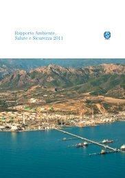 Rapporto Ambiente, Salute e Sicurezza 2011 - Saras SpA