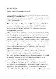 1 Maria Monica Polenghi Benessere: pelle e ... - Tessile e Salute