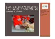 Sicurezza sul lavoro OSS - Studio Tecnico di Ingegneria - Marco ...