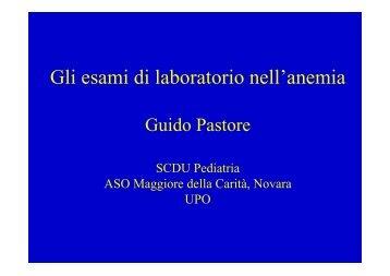 Gli esami di laboratorio nell'anemia - ASL 13 Novara