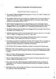 CV dr Francaviglia - Ospedale Civico di Palermo