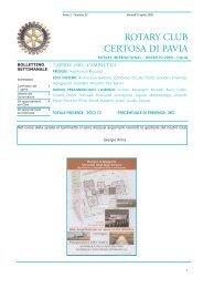 ROTARY CLUB CERTOSA DI PAVIA