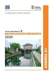 Le centrali idroelettriche di Mirabello Ciria e della Rezza