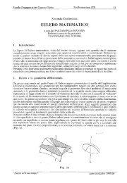Eulero Matematico - Carlo Felice Manara