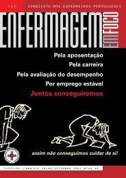 Juntos conseguiremos - Sindicato dos Enfermeiros Portugueses