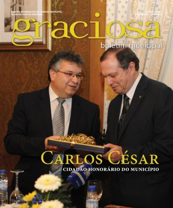 Carlos César - Câmara Municipal de Santa Cruz da Graciosa