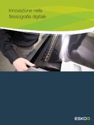Brochure template - Esko
