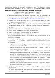 schema bando di gara procedura aperta (1) - Terme di Fiuggi