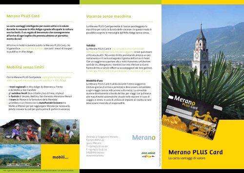 Merano Plus Card - Hotel Garni Lux