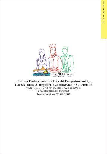 "Opuscolo I.P.S.E.d.O.C. ""Crocetti"" - IIS ""Crocetti-Cerulli"" Giulianova"