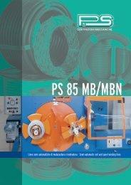 Semi-automatic coil and spool winding lines - PS Costruzioni
