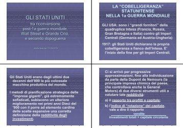 8. Lezione 12 Maggio 2010 - GIORGIO ROVERATO