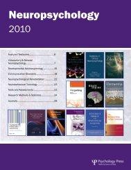 Communication Disorders - Neuropsychology