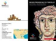 museo provinciale di torcello - Sistema Bibliotecario Museale ...