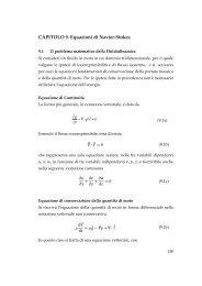 CAPITOLO 9. Equazioni di Navier-Stokes - Dimeca