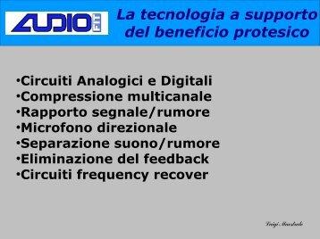 La tecnologia a supporto del beneficio protesico - Audiofit.It