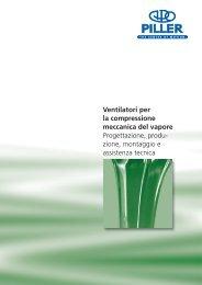 Ventilatori per la compressione meccanica del vapore Progettazione ...