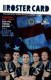 TUESDAY, MAY 28TH 7:30 PM THIRD ROUND 2013 Lamar hunt u.s. open cup vs