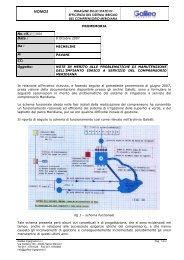 Relazione perizia su impianto idrico