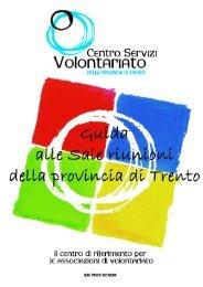 Guida alle Sale Runioni - Centro Servizi Volontariato Trentino
