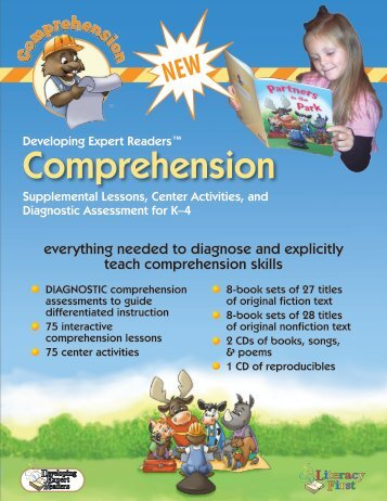 Comprehension - Literacy First