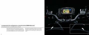 I componenti per navigazione e comunicazione ... - BMW Italia Moto
