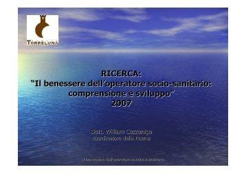 Anziani - Osservatorio per le Politiche Sociali della Provincia di Lecco