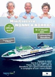 MiniCrociera NONNI A BORDO! - Grimaldi Lines